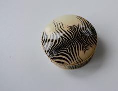 Roberto Cavalli Casa Jewellery Dish, Zebra collection by Finewhite on Etsy