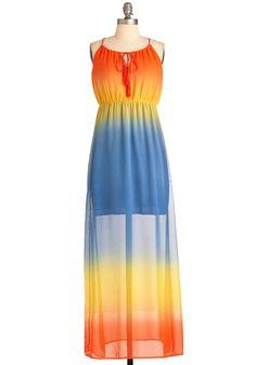 Rainbow Forest Dress