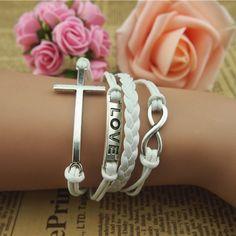 3.78$  Watch here - http://diz6s.justgood.pw/go.php?t=YE4520501 - Cross Infinity Multilayer Bracelet