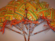 Ponytail Hair Ties Lollipop - Great team gift - teen/party favors on Etsy, $5.50