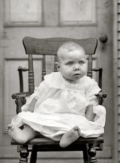 "Baby Gus:  Washington, D.C., circa 1920. ""Gus Tolson, baby.""  National Photo Company Collection glass negative. Click to view full size."