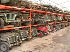 "oldschoolgarage: "" Jeep warehouse,location unknown """