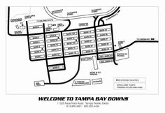 Ever wonder what the backside of Tampa Bay Downs looks like?