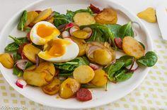 Photo de recette de pommes de terre chorizo oeuf mollet de Kilomètre-0, blog de…