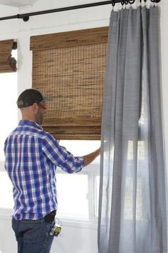 garage window blinds roll up our favorite option for rentals the grit and polish garage windows converted tacoma window treatments with lowes