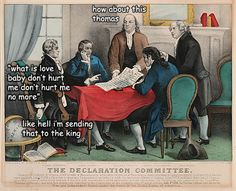 Why Ben Franklin wasn't the main writer of the Declaration of Independence.