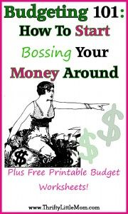 Budgeting 101: Boss Your Money Around