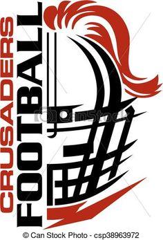 Vector - cougar football - stock illustration, royalty ...