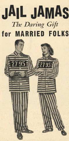 Jail Pyjamas, The Daring Gift for married folks