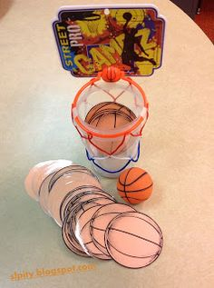 SLP-ity!: A Week of Speedy Speech Activities: Friday! Articulation Basketball. Pinned by SOS Inc. Resources @sostherapy http://pinterest.com/sostherapy.
