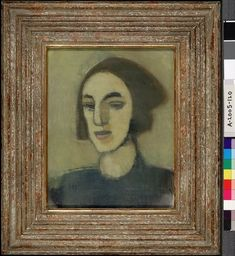 Find out more on Europeana Helene Schjerfbeck, Mona Lisa, Walls, Tumblr, Artwork, Painting, Design, Lilac, Work Of Art