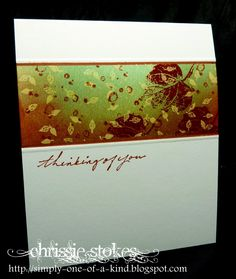 masked autumn card