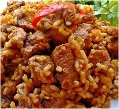Fried Rice, Cooking Recipes, Foods, Ethnic Recipes, Food Food, Food Items, Chef Recipes, Nasi Goreng