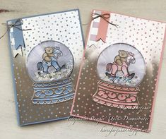 e of the gorgeous Seaside Spray Metallic Ribbon Baby's First Christmas Card, Confirmation Cards, Horse Cards, Christmas Snow Globes, New Baby Cards, Stamping Up Cards, Holiday Greeting Cards, Shaker Cards, Flower Cards