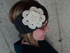 Head Wrap with Jeweled flower by PortalElements, $20.00