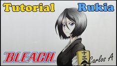 Como Desenhar Rukia Kuchiki - Bleach - How to Draw Kuchiki Rukia