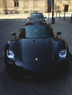 The Porsche 918 Spyder is a Hybrid supercar with a limited production of 918 units that ended in The car is available as a coupe and as roadster. Maserati, Bugatti, Lamborghini, Ferrari, Porsche 918, Porsche Cars, Black Porsche, Dream Cars, My Dream Car