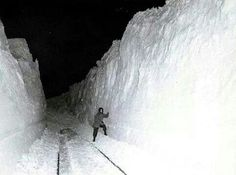 my co-worker sent this to me the day after blizzard nemo when our manager asked us to report to work and we were soooo snowed in. Leclaire Iowa, Places To Travel, Places To See, Fairfield Iowa, Two Rivers, Madison County, Lots Of Cats, South Bend, The Monks