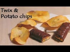 ▶ 'Realistic' Polymer clay Twix & Potato Chips Tutorial - YouTube