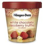 Häagen-Dazs® Ice Cream: White Chocolate Raspberry Truffle