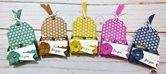 Hershey Nugget, Hershey Candy, Hershey Kisses, Treat Holder, Birthday Party Favors, Treat Bags, Stamping Up, 3 D, Giveaway
