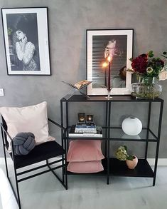 let us bring you 33 home decoration and Room deco ideas, use different ideas to make your home more comfortable and warmer! Living Room Grey, Home And Living, Living Room Decor, Bedroom Decor, Modern Living, Room Inspiration, Interior Inspiration, Small Room Bedroom, House Rooms