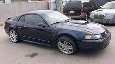 2003 Ford Mustang GT Deluxe Coupe 4.6L 91k Miles Ball Joint Brake Pads Brake Rotors Brakes Catalytic Converter Cold Air Intake Control Arm Exhaust Manifold Fog Light Fuel Tank Grille Headlight Mirror Oxygen Sensor Shock Absorber Shocks Tail Light Valance Panel Wheel Hub Window Motor Window Switch