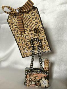 Isha's Crafty Side...altered binder clip w/ tag