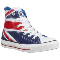 Converse All Star Union Jack The Who White Red Blue New Womens Mens Trainers Converse Chuck Taylor All Star, Converse All Star, Chuck Taylors, Black Sports Shoes, Star Wars, Mens Trainers, Shoe Collection, Partner, Red And Blue