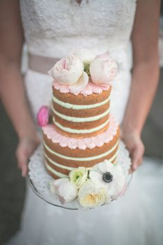 Rose pink and vintage themed Spring wedding