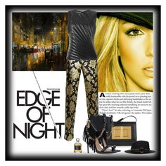 """Edge Of Night"" by katiethomas-2 ❤ liked on Polyvore featuring moda, Britney Spears, Emanuel Ungaro, Tom Ford, Dsquared2, The Kooples y Serge Lutens"