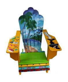 Attirant Paradise Adirondack   HOME DECOR Margaritaville Chair. I So Want Four Of  These Chairs To Put Around A Fire Pit.