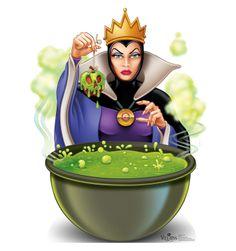 Snow White Evil Queen Disney Apple Macbook by creativedecaldesigns Walt Disney, Disney Magic, Disney Evil Queen, Disney Love, Disney Art, Disney Pixar, Disney Wiki, Villains Party, Disney Villains Art