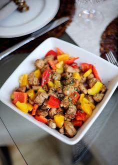 Sesame Chicken Gluten Free Recipe // FashionableHostess.com