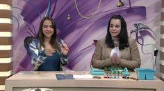 Bandeja com Estêncil por Livia Fiorelli - 13/06/2017 - Mulher.com - P1/2 - YouTube