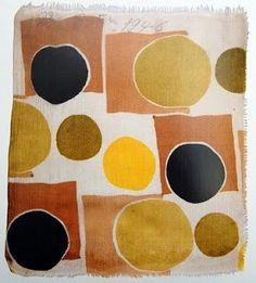 Margaret Calkin James Design on Sonia Delauney Fabric Print