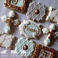 """#baptism #cookies for Franco's special day ❤️ #decoratedcookies #decoratedsugarcookies #decoratedcustomcookies #customcookies #customdecoratedcookies…"""