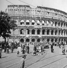 WW2 Photo WWII Allied Forces Reach Colosseum  Rome Italy 1944 World War Two/1425