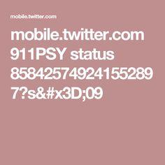 mobile.twitter.com 911PSY status 858425749241552897?s=09
