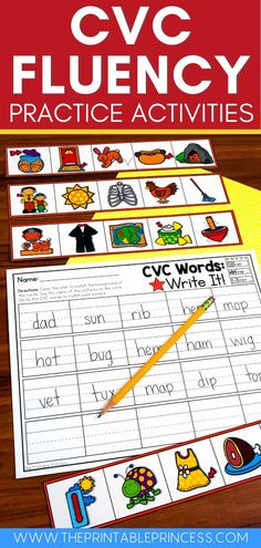 "This is a low-prep, ""I can,"" great activity for practicing CVC and building fluency! It is great for guided reading or as an independent center. This resource is editable so you can differentiate for your students!"