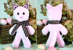 Cat Softie. Fast, easy, but next time it needs to be bigger. Their 100% scale pattern was a bit small for me...