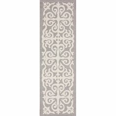 nuLOOM Chelsea Damask Moroccan Trellis Enchant Area Rug Rug Size: Runner x Rug Runners, Wool Runners, Contemporary Area Rugs, Accent Rugs, Online Home Decor Stores, Online Shopping, Rug Hooking, Rug Store, Throw Rugs