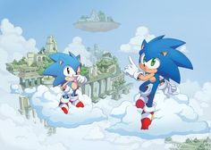 Play Sonic, Sonic Art, Beautiful Drawings, Cool Drawings, Shadow The Hedgehog, Sonic The Hedgehog, Sonic Generations, Sonic Unleashed, Fairytale Art
