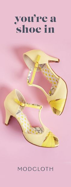 f8602c205b06 Put your best foot forward with spring shoes with sunny hues and sweet  details