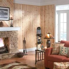 Updating knotty pine walls dating a girl 5 years younger