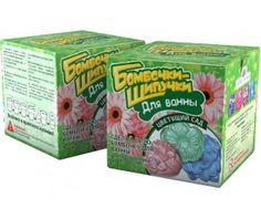 Инновации для детей Набор для творчества Бомбочки-Шипучки для ванны Цветущий сад