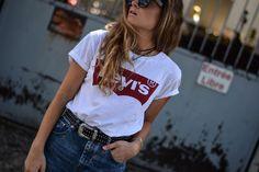 Tee-shirt Levis / Summer 2016 / www.marieandmood.com