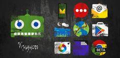 Martes 01 de Marzo 2016.  Por:Yomar Gonzalez| AndroidfastApk   Ruggon - Icon Pack v1.9 Requisitos: 4.0.3 o superior Descripción general: Ruggon es un paquete de temas / icono completo para varios lanzadores. Cada icono está mano a mano con el grungeRuggon es un paquete de temas / icono completo para varios lanzadores. Cada icono está hecho a mano con los efectos del grunge rasgados y suciedad mano. Los iconos son sin forma completa que le da una apariencia única. Los fondos de pantalla son…
