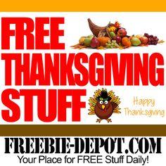 FREE Thanksgiving Stuff 2015