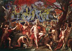 Clásico, renacentista, barroco, urbano y pop, así las obras de Marco Battaglini.